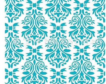 Damask Stencil by 2T's