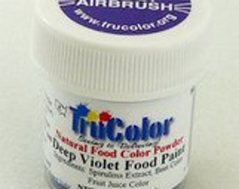 Tru Color Deep Violet Airbrush and Food Paint 5 gram