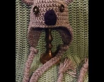 Infant, koala photo prop hat
