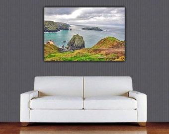 Cornwall canvas, cornwall wall art, cornwall gift, cornwall harbour, cornwall beach, cornwall holidays, cornwall photography, cornwall print