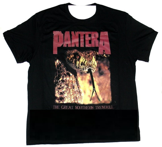 Pantera t shirt the great southern trendkill by pavra on etsy The great t shirt