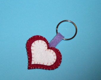 Heart Keyring #2