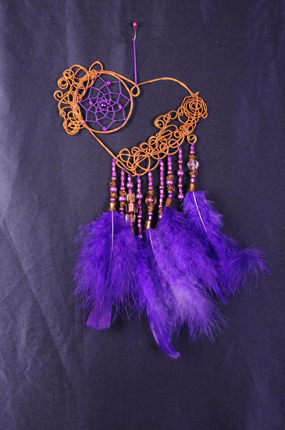Can Dream Catchers Get Full Dreamcatcher Valentine Violet Pink violet Dream Catcher purple 22