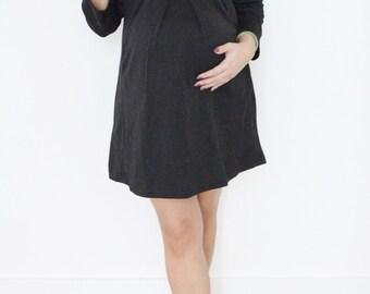 Bow Place Like Home Maternity Dress