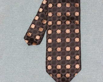 PURE SILK Kenzo Homme brocade pattern tie made in Italy