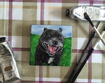 Custom Miniature Pet Portrait