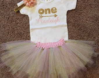 First birthday outfit customized