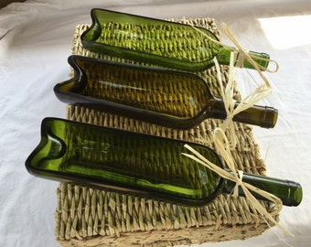 Wine Bottle Serving Trays