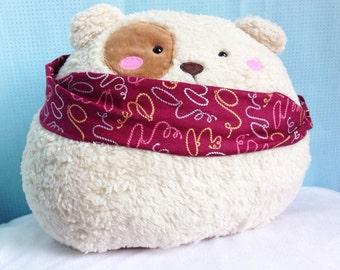 Brown Stuffed Bear, Bear Softie, Bear Decor, Plush Bear, Children Toy Bear, Toddler Toy Bear - Brown Bear