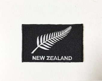 New Zealand Iron on Patch