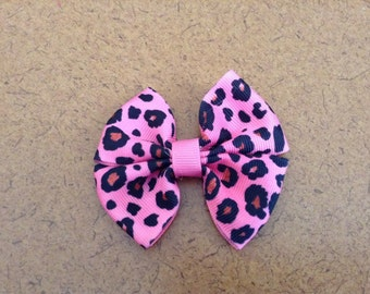 Leopard Print Bow Available in 3 Colors