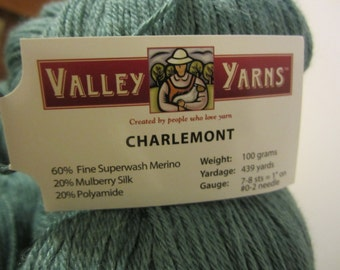 Charlemont Kettle Yarn by Valley Yarns with Merino Wool and Silk