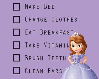Children's Chore Chart