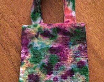 Purple Tie Dye Mini Bag