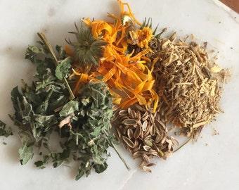 Sacral chakra herbal tea blend