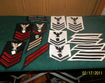 U.S. navy sleeve patches