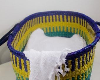 Moses Basket/ Bassinet- Handwoven
