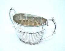 Solid Silver Sugar Bowl Mappin & Webb 1901