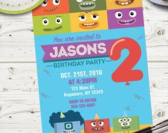 CUSTOM - Digital - Big Block Singsong PARTY INVITATION /Big Block Singsong Party Invitations/Big Block Singsong Personalized Invitation