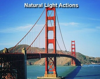 Natural Light Photoshop Actions