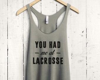 Funny Lacrosse Tank Top - lacrosse tanktop, lacrosse mom shirt, lacrosse fan shirts, womens lacrosse shirt, lacrosse training top
