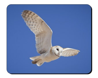 Mouse Mat - Owl Flying - Mouse Pad AI108