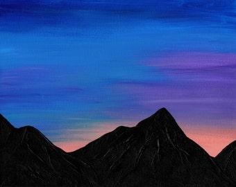 Mountain Sunrise 8x10 PHOTO Print