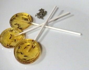 Vanilla Lavender Lollipops - Lollies For Love!