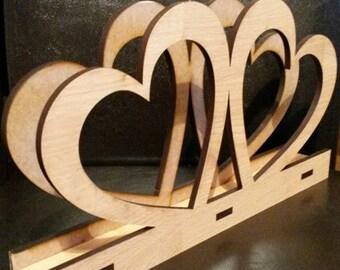 Placemats holder - Heart (18*32 cm)