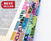 The Ultimate Bible Tabs: laminated handmade books of the bible with adhesive