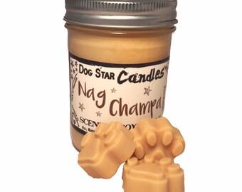 Nag Champa - 8oz Soy Candle, Wax Tarts
