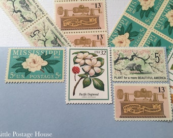Something Old | Vintage Stamps | Unused Postage Stamps | For 5 Letters | 55 Cents