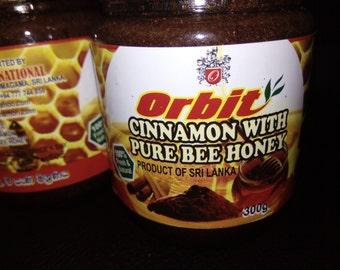 Cinnamon with PURE BEE HONEY 100% fresh & Natural
