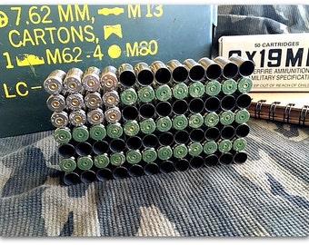 Military Bullet Shell Flag