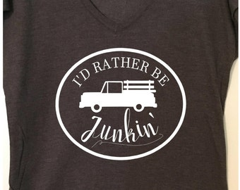 I'd Rather be Junkin' - tee