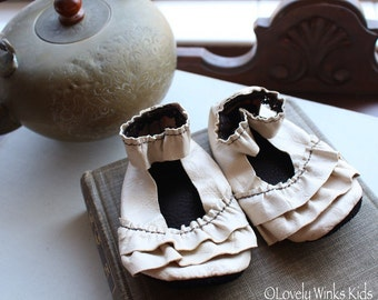 Ruffle Mary Janes 6-12 months