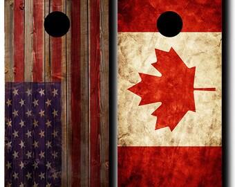 Canada Cornhole Etsy