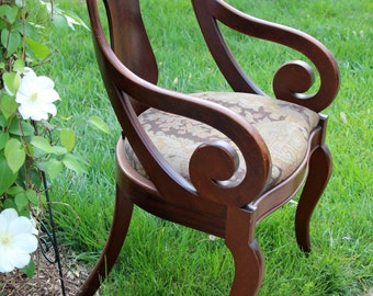 Antique Cherry Side Chair
