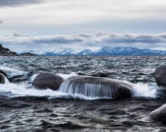 Lake Tahoe waves