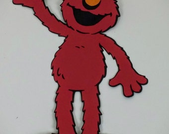 Sesame Street Elmo Die Cut