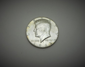 US Half Dollar 1967, 40% Silver, Normal Circulated Condition, 13 coins, FREE SHIPPING to U.S.