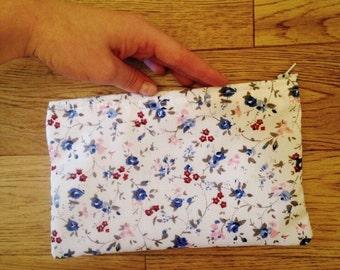 Handmade Zipped Make Up Bags/Pencil Cases
