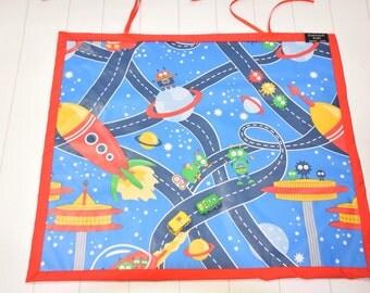 car mat space mat game kids play mat travel roll up mat