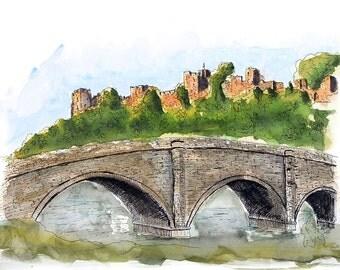 Dinham Bridge, Ludlow