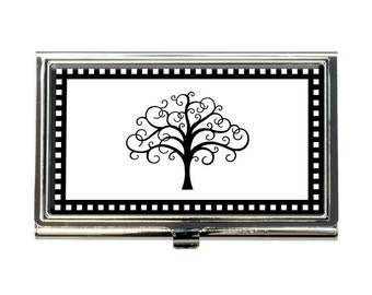 Tree of Life Business Credit Card Holder Case