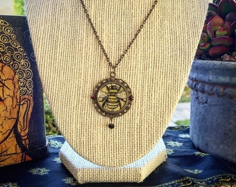 Victorian Bee Necklace