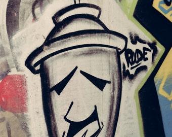 Spray Paint Graffiti Can