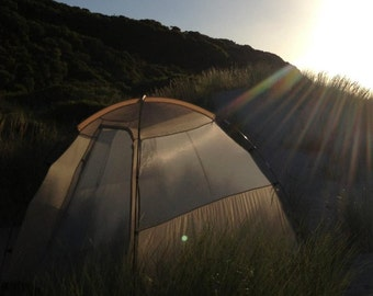 Tent in the San Dune Grass