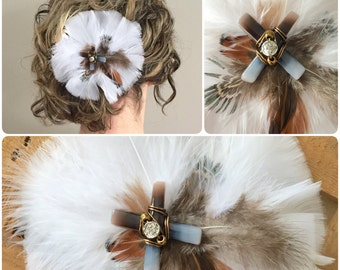 Feather Hair Fascinator
