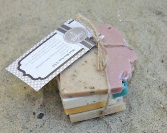 Sampler of Soap. Goat Milk Soap Sample. Handmade Soap Sample. Homemade Soap Sample Bar Soap. Soap. Sample Soap Bundle.